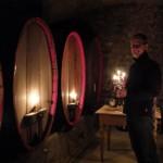 Auch im Keller kann es sehr schön sein, wie hier im Weingut Johannes Nickel in Nordheim.