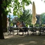schöner Garten von Hoflößnitz